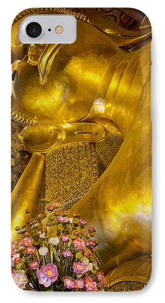 IPhone Case featuring the photograph Reclining Buddha by Kim Andelkovic