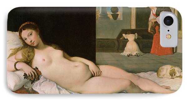 Reclining Venus IPhone Case by Ingres