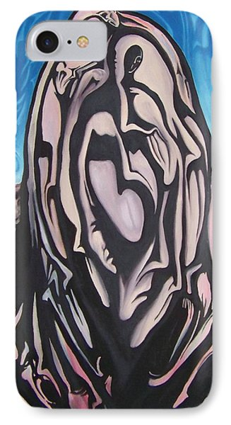 IPhone Case featuring the painting Recluse by Michael  TMAD Finney