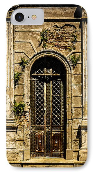 IPhone Case featuring the photograph Recoleta Crypt Door by Rob Tullis
