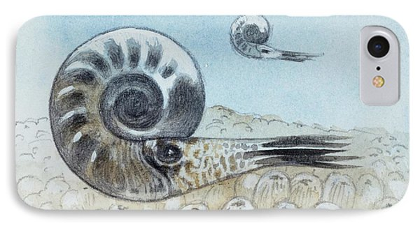 Reconstruction Of Ammonite IPhone Case by Deagostini/uig