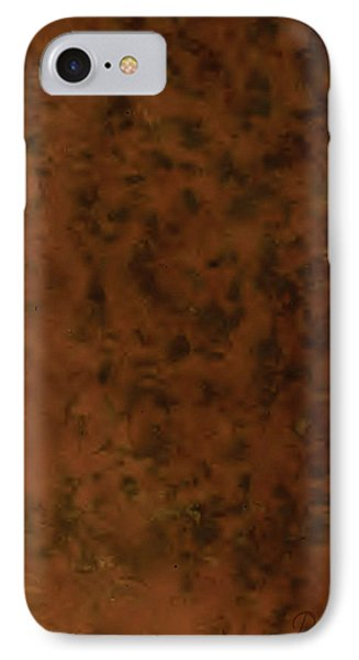Recumbant Umber IPhone Case by Del Gaizo