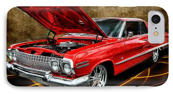 Red '63 Impala IPhone Case