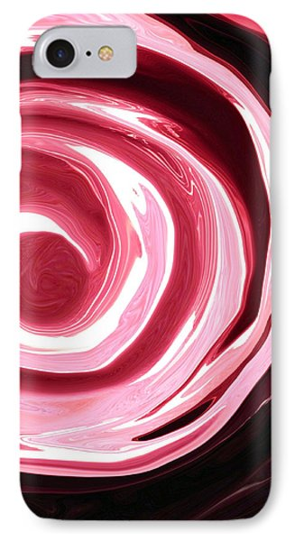 Red Abyss Phone Case by Linnea Tober