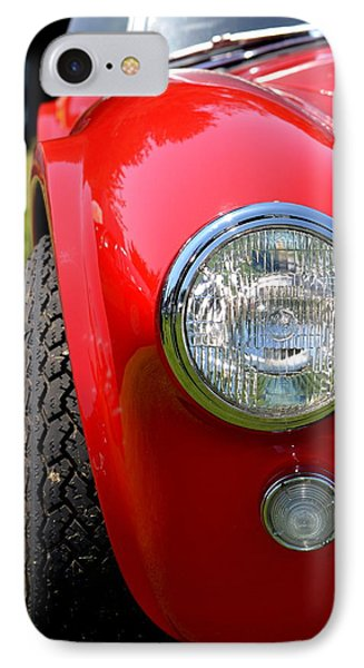 IPhone Case featuring the photograph Red Ac Cobra by Dean Ferreira
