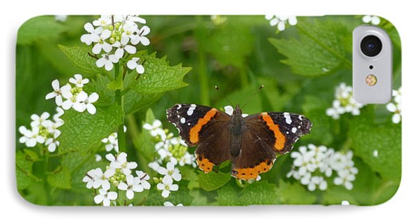 IPhone Case featuring the photograph Red Admirals by Lingfai Leung