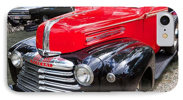 Red And Black Mercury Pick Up IPhone Case by Mick Flynn