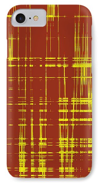 Red And Yellow Wave No 1 IPhone Case by Ben and Raisa Gertsberg