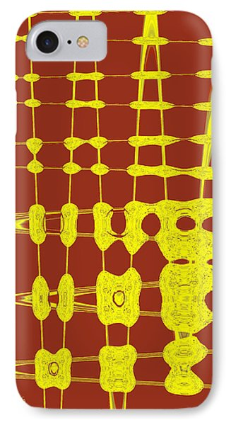 Red And Yellow Wave No 2 IPhone Case by Ben and Raisa Gertsberg
