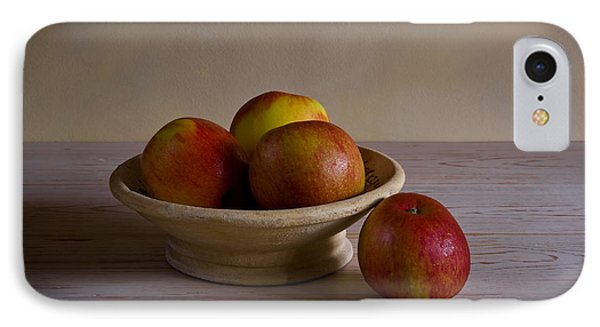 IPhone Case featuring the photograph Red Apples by Trevor Chriss