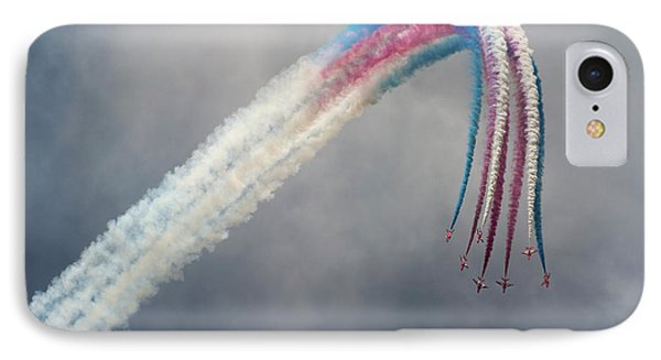 Jet iPhone 7 Case - Red Arrows by