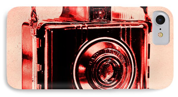Red Baby Brownie Special IPhone Case by Jon Woodhams