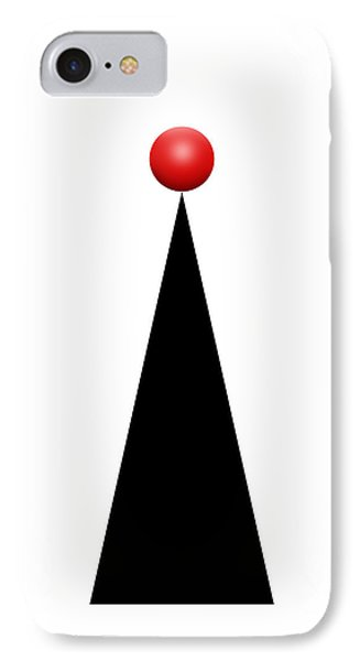 Red Ball 28a V Panoramic IPhone Case