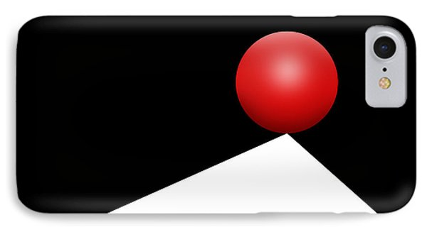 Red Ball 29 IPhone Case
