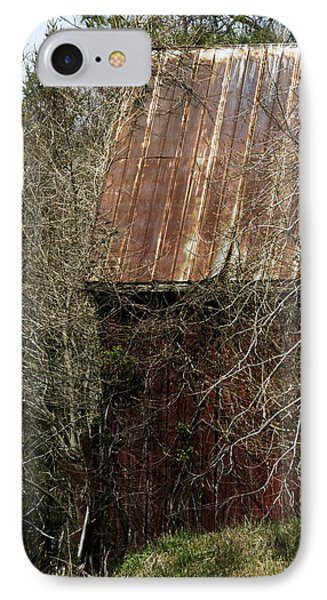 IPhone Case featuring the photograph Red Barn - Dares Beach Road by Rebecca Sherman