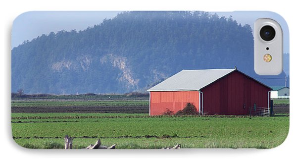 IPhone Case featuring the photograph Red Barn by Erin Kohlenberg