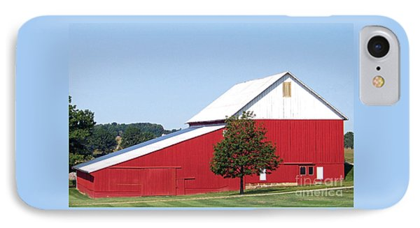 IPhone Case featuring the photograph Red Barn by Gena Weiser