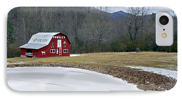 Red Barn In Tate City Phone Case by Susan Leggett