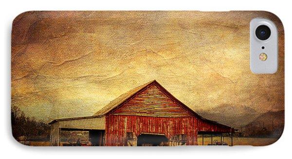 Red Barn  Phone Case by Joan McCool