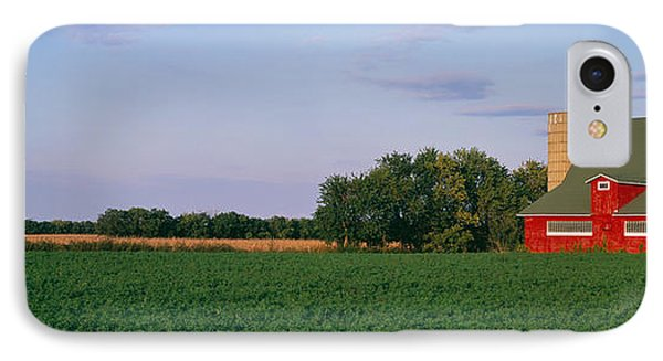 Red Barn Kankakee Il Usa IPhone Case