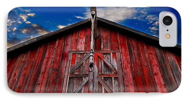 Red Barn IPhone Case by Michael White