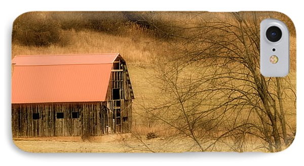 Red Barn Of Virginia IPhone Case by Teresa Tilley