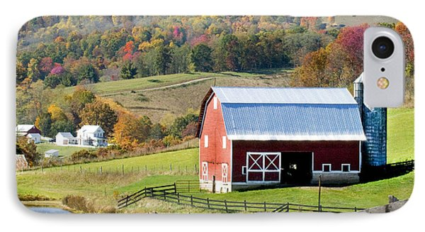 IPhone Case featuring the photograph Red Barn by Robert Camp