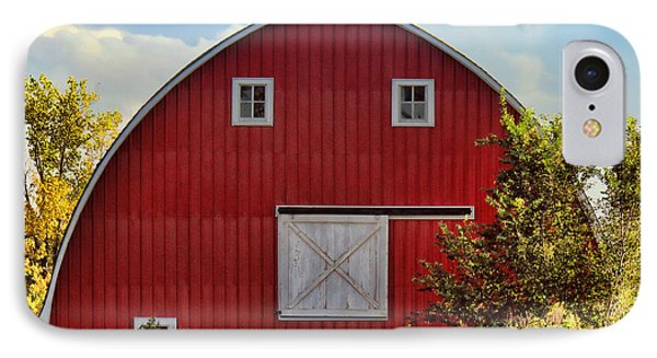 Red Barn Phone Case by Sylvia Thornton
