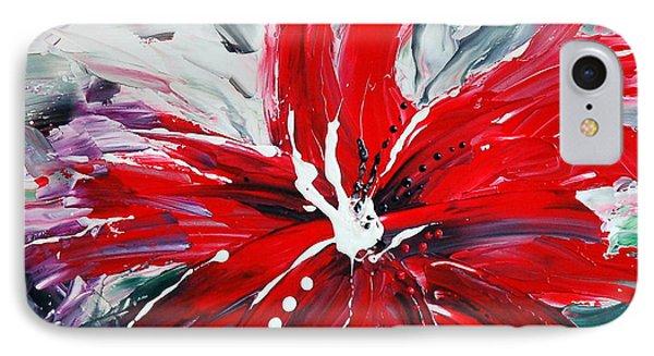 Red Beauty Phone Case by Teresa Wegrzyn