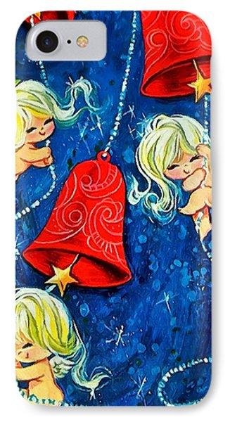 Red Bells IPhone Case by Munir Alawi