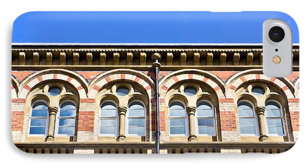 Red Brick Building  Phone Case by Tom Gowanlock
