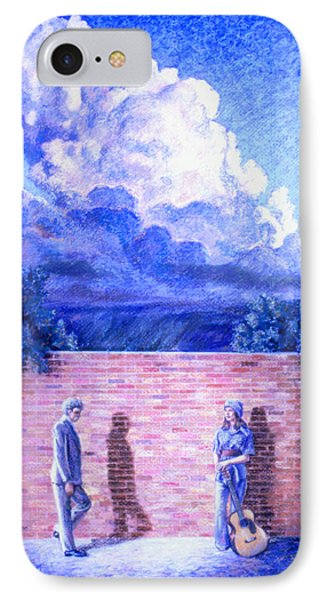 Red Brick Wall Phone Case by Dan Terry