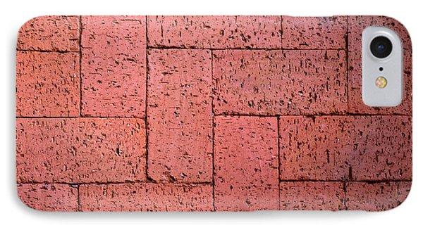 Red Burnt Bricks IPhone Case by Jozef Jankola