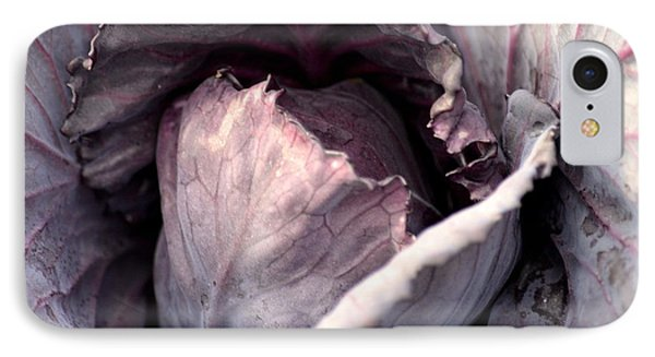 Red Cabbage Phone Case by Maria Urso