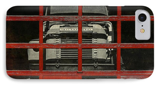 Red Cage IPhone Case by Jeff  Gettis
