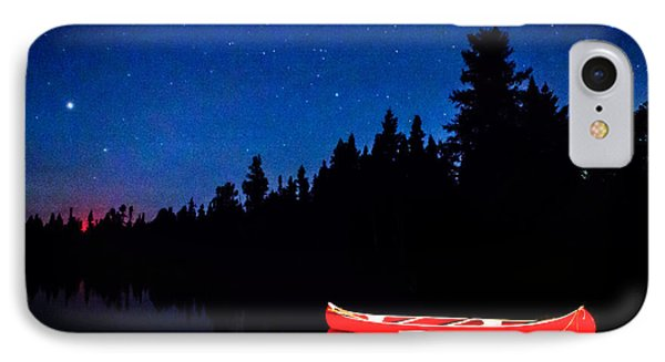 Red Canoe I IPhone Case