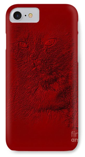 Red Cat Collection. Special... IPhone Case