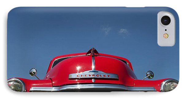 Red Chevrolet 3100 1953 Pickup  Phone Case by Tim Gainey