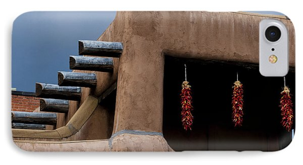Red Chile Ristras Santa Fe IPhone Case