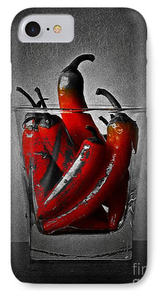 Red Chili Peppers IPhone Case