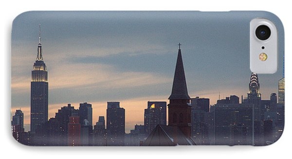 IPhone Case featuring the photograph Red Church by Steven Macanka