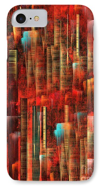 IPhone Case featuring the painting Concrete Jungle by Yul Olaivar