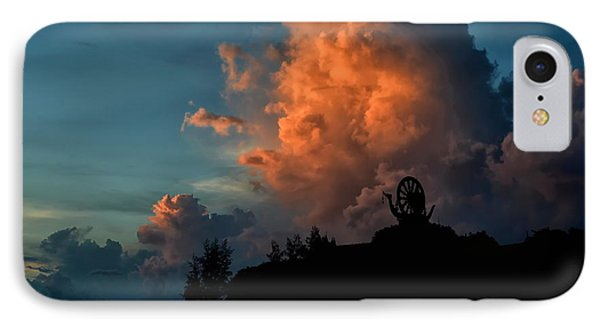 Red Clouds IPhone Case by Michelle Meenawong