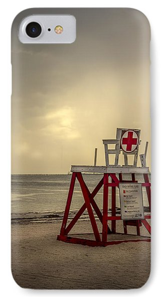 Red Cross Lifeguard IPhone Case