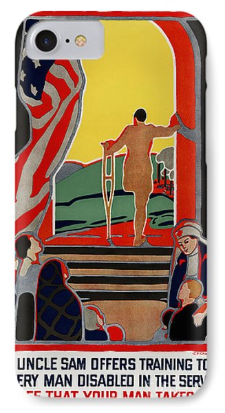 Red Cross Poster, 1919 Phone Case by Granger