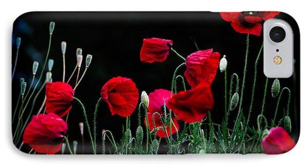 Red Dance IPhone Case by Edgar Laureano