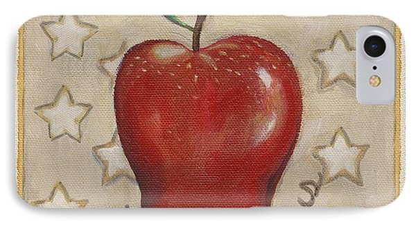 Red Delicious Two Phone Case by Linda Mears