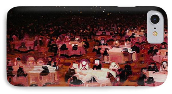 Red Dining Room 9 IPhone Case