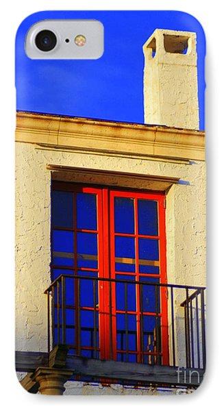 Red Door IPhone Case