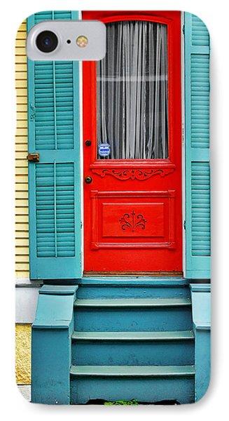 Red Door In New Orleans IPhone Case